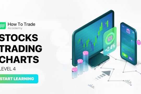 stocks trading charts